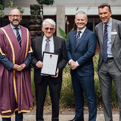 Honouring a medical leader